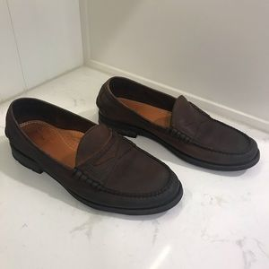 Frye Penny Loafers in Brown Men's Size 8
